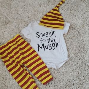 Other - Snuggle this Muggle Harry Potter Baby Outfit